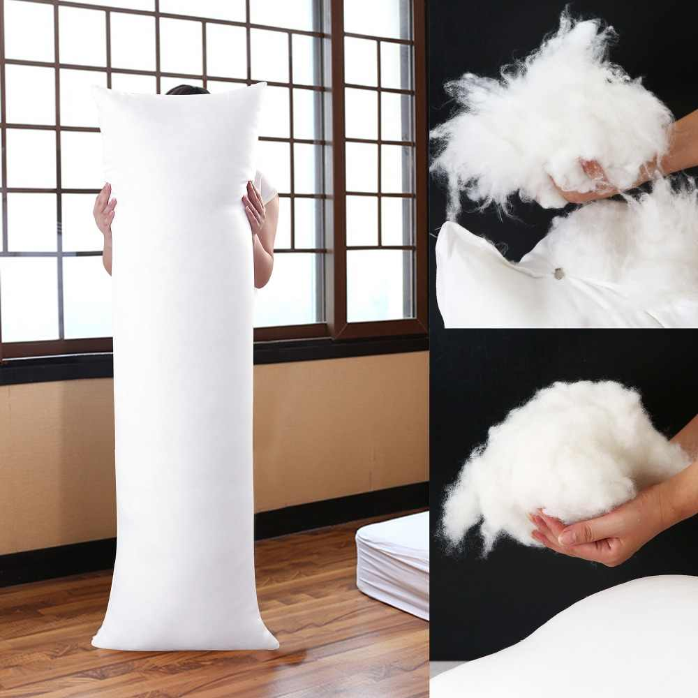 150x50cm Long Dakimakura Hugging Body Pillow Inner Insert Anime Body Pillow Core White Pillow Interior Home Use Cushion Filling