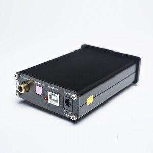 Image 3 - FEIXIANG FX AUDIO MINI DAC X3 włókna koncentryczny USB dekoder 24BIT/192Khz USB słuchawki z przetwornikiem DAC dekoder wzmacniacze audio