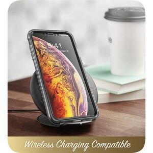 Image 5 - Iphone Xs 最大ケース i ブレゾンコスモシリーズ全身シャイニングブリンブリングリッター羽バンパーケースと内蔵スクリーンプロテクター