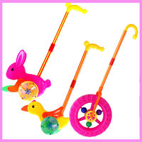 Large Wheel Hand Pushchair Baby Walker With Wheels Hand Toys Baby Walking Assistant Stroller Pretend Play