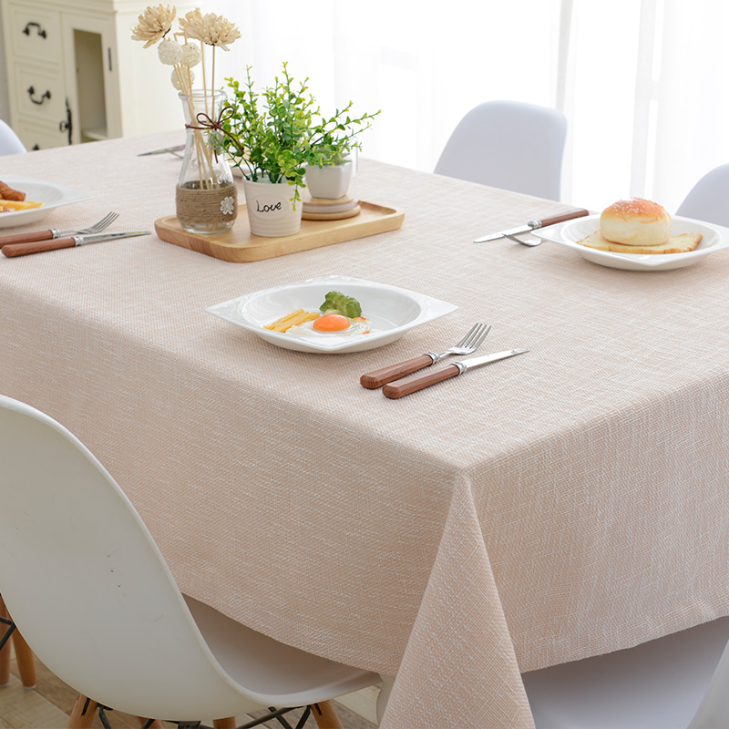 Cotton And Linen Solid Color Table Cloth Cloth Table Cloth IKEA Coffee Table  Cloth Rectangular Table