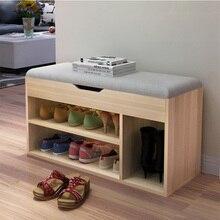 Простой современный стул для хранения обуви, модный диван, сменная скамья для обуви, полка для обуви, удобная обувная коробка, органайзер для обуви