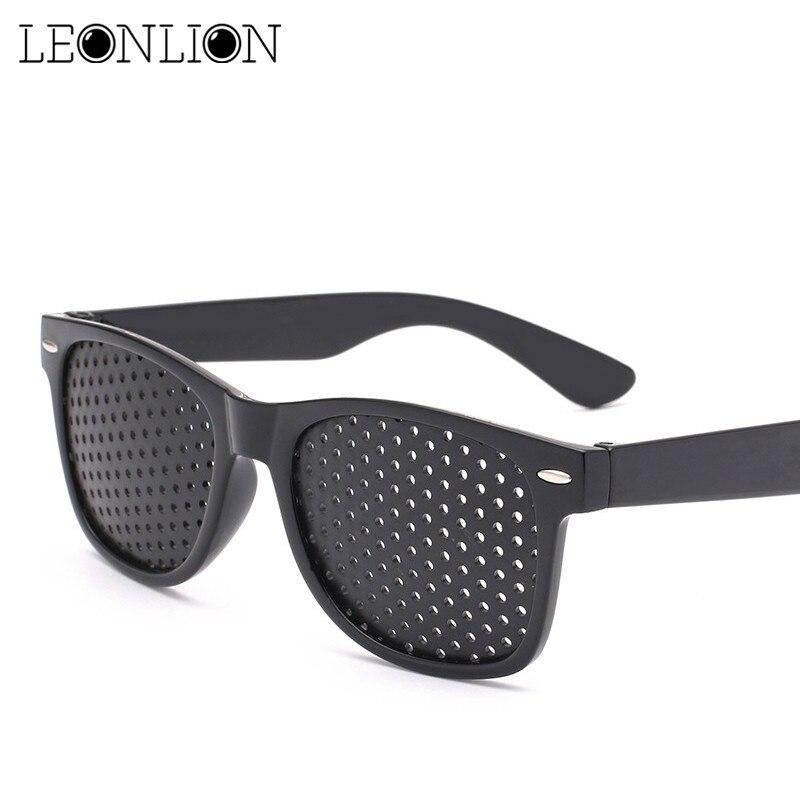 b6b6ad52c Leonlion 2019 Fashion Hole Retro Sunglasses Men Corrected Vision Sun Glasses  Women/Men Brand Designer