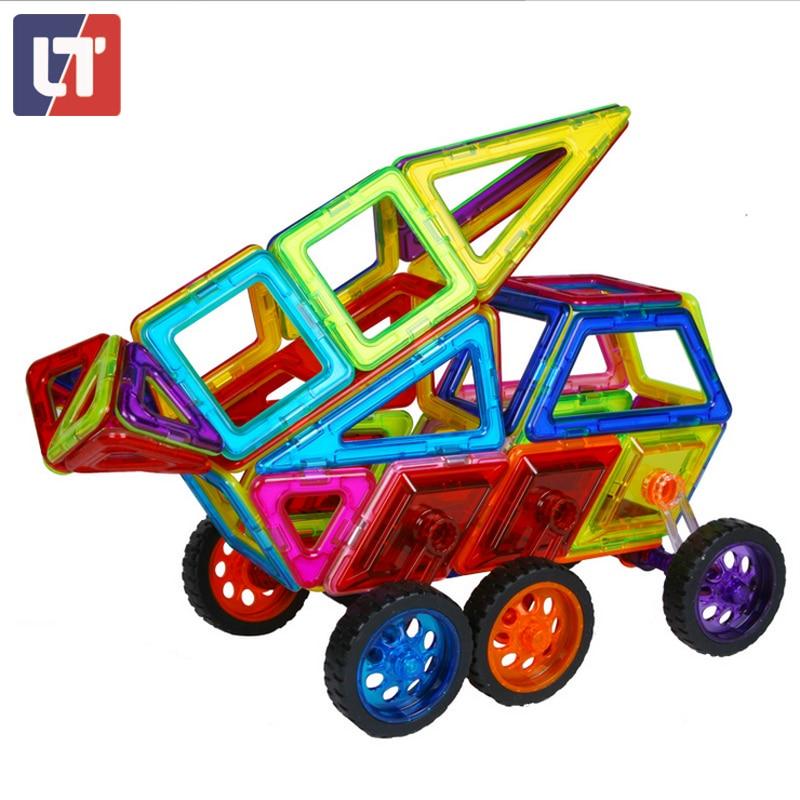 3D Designer Magnetic Builiding Blocks Construction Big Size Set Kids Educational Toys For Chldrens Boys Girls Babys Gift