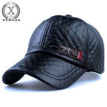 New fashion high quality faux leather Cap fall winter hat casual snapback baseball cap for men women hat wholesale
