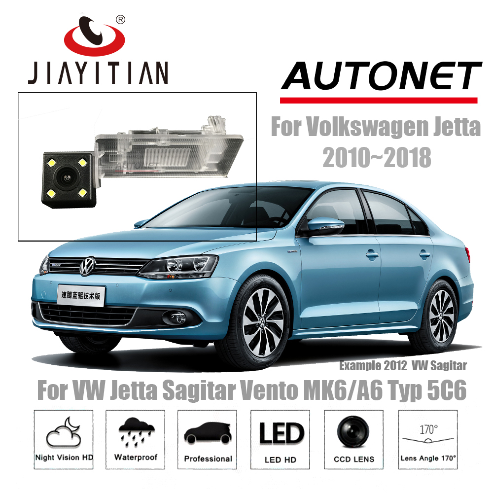 JIAYITIAN rear camera For VW Jetta Sagitar Vento MK6 A6 Typ 5C6 2010 2018 CCD Night