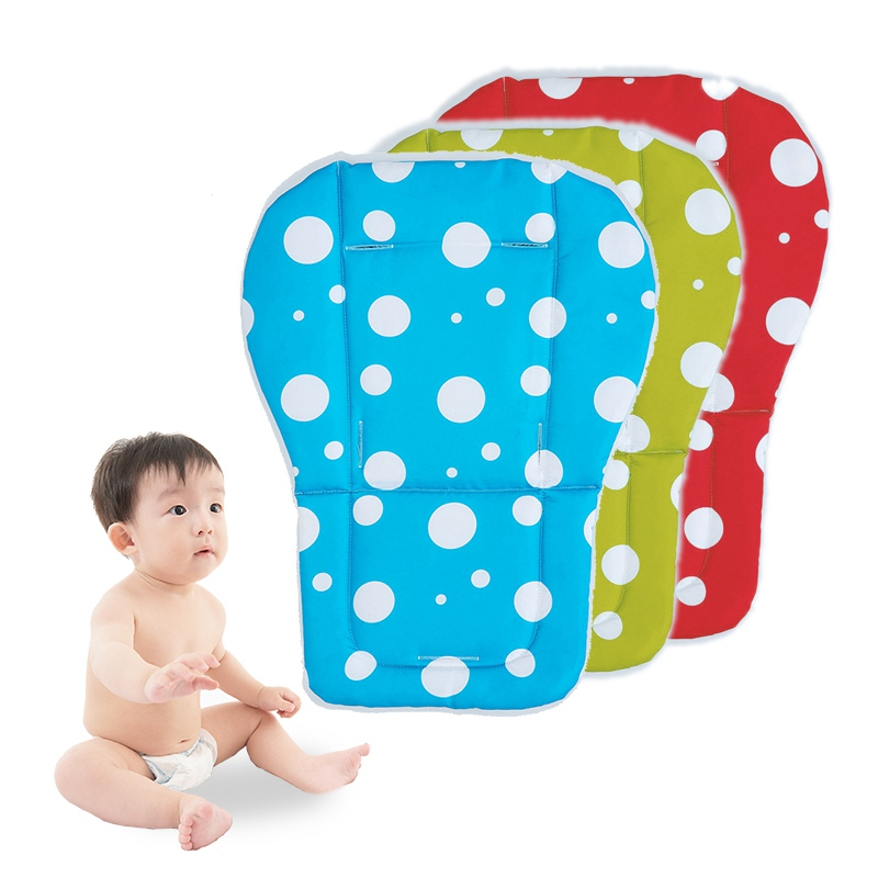 Cotton Baby Stroller Accessories Seat Cushions Kids Pushchair Cushions Comfortable Baby Stroller Pads Child Cart Seat Mats