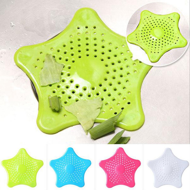 Sale 2PCS Silicone sink filter suction cup PVC Kitchen Tools Sewer Drain Hair Colanders Strainers Filters Bathroom Accessories in Colanders Strainers from Home Garden