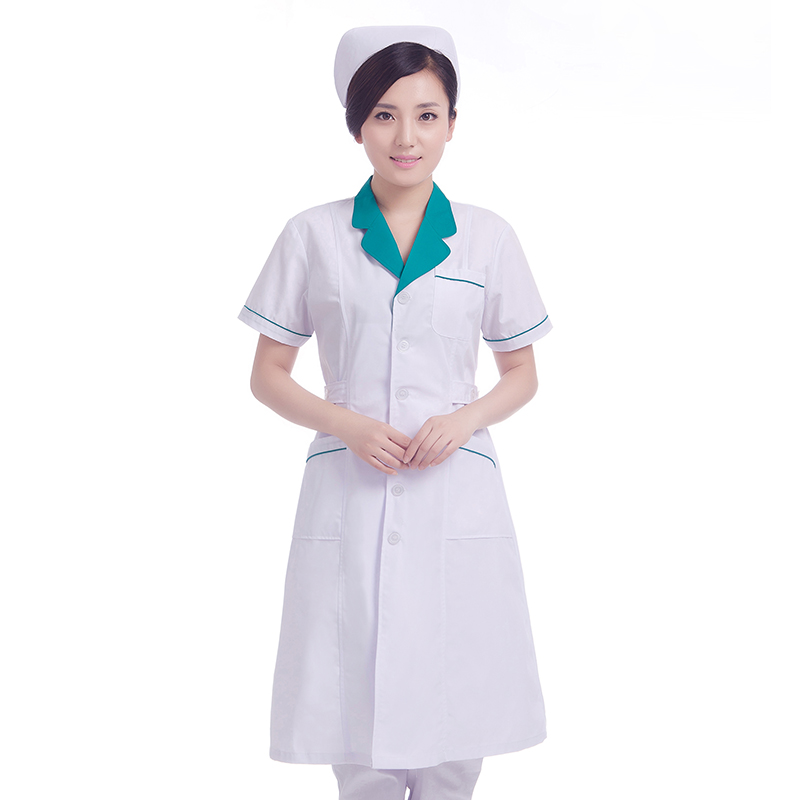 Doctor Clothing Female Pharmacy Overalls Beauty Salon Overalls Long Sleeve Physician Clothes Intern Work Clothes