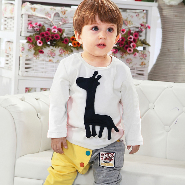 84d37456af28 Baby clothes 0 1 year old autumn 6 small children s clothing male ...