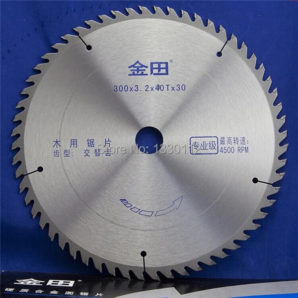 12 300x3.2x40Tx25.4/30 TCT wood cutting saw blade for solid bar rod free shipping free shipping 1pc decoration grade 125 22 20 30 40t tct saw blade for home decoration purpose wood thin aluminum general cutting