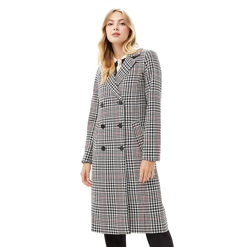 Trench MODIS M182W00431 coat for female for woman TmallFS blue plain lapel collar sleeveless trench coat