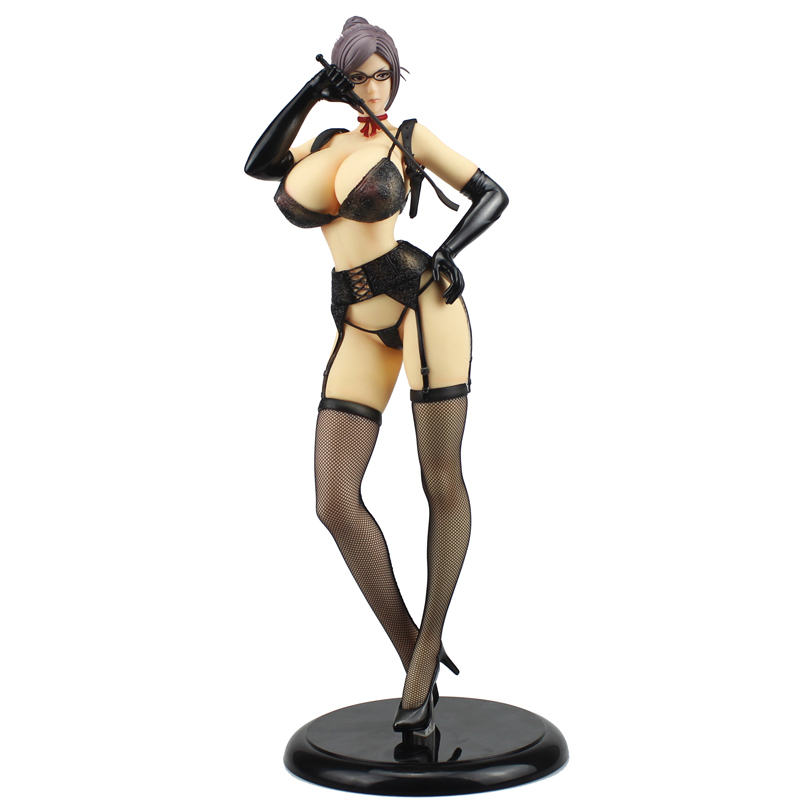41cm Kangoku Gakuen Prison School Meiko Shiraki Underware ver. <font><b>1/4</b></font> B-style PVC Anime FREEING <font><b>Sexy</b></font> Girl Action Figure Model Toys image
