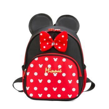 Detský batoh Minnie s mašľou – 3 varianty