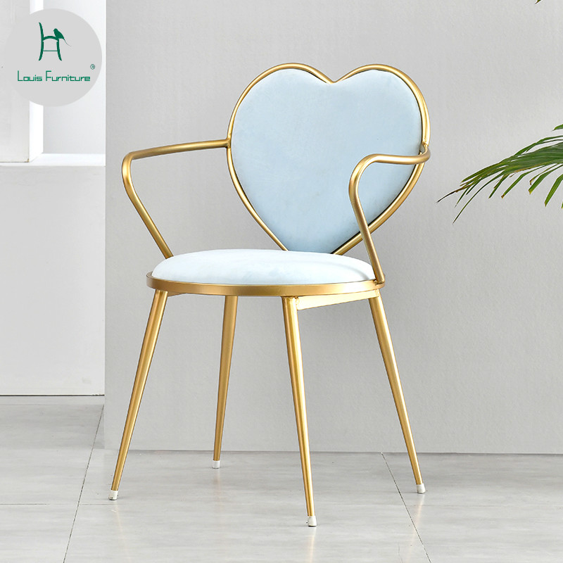 Dining Room Furniture French Fashion Style Chairs Popular Stools Coffee House Wine Bar Restaurant High Quality With Strong Leg And Cushion Armchair