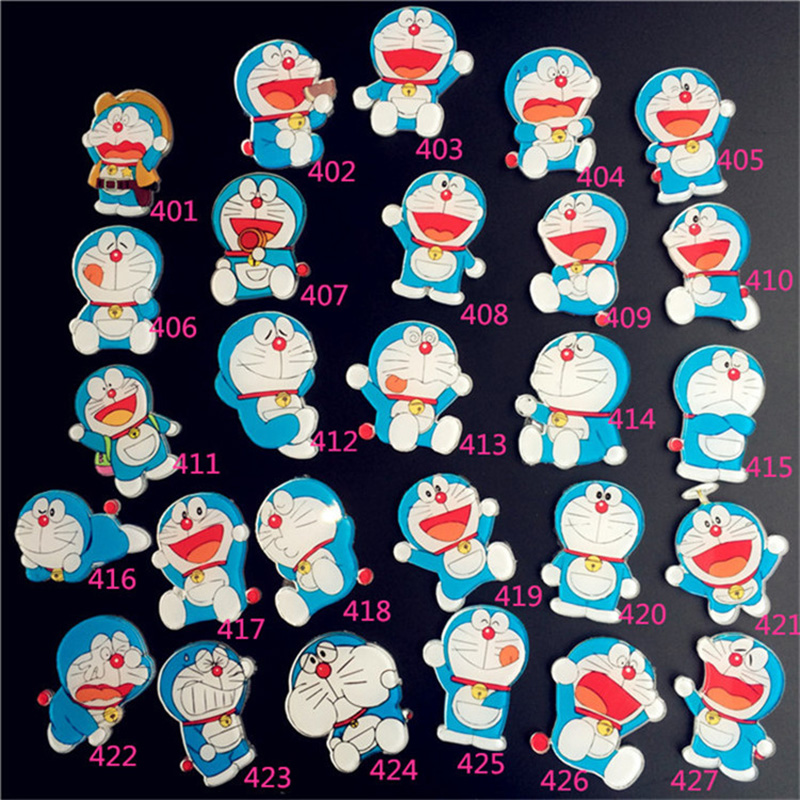 Cartoon Doraemon Acrylic Brooch Badges For Clothing Collar Packbag Lable Pins Child Decorative Badge Women/Men Fashion Jewelry