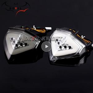 Image 1 - ホンダ CB1000R 2008 2013 CBR600F LED ウインカーテールライトオートバイリアブレーキテールライト CB 1000R CB1000 R