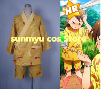 Free Shipping!  IDOL MASTER  Hutami Mami Hutami Ami goldfish printing Cosplay Costume,Size customizable,Halloween performance