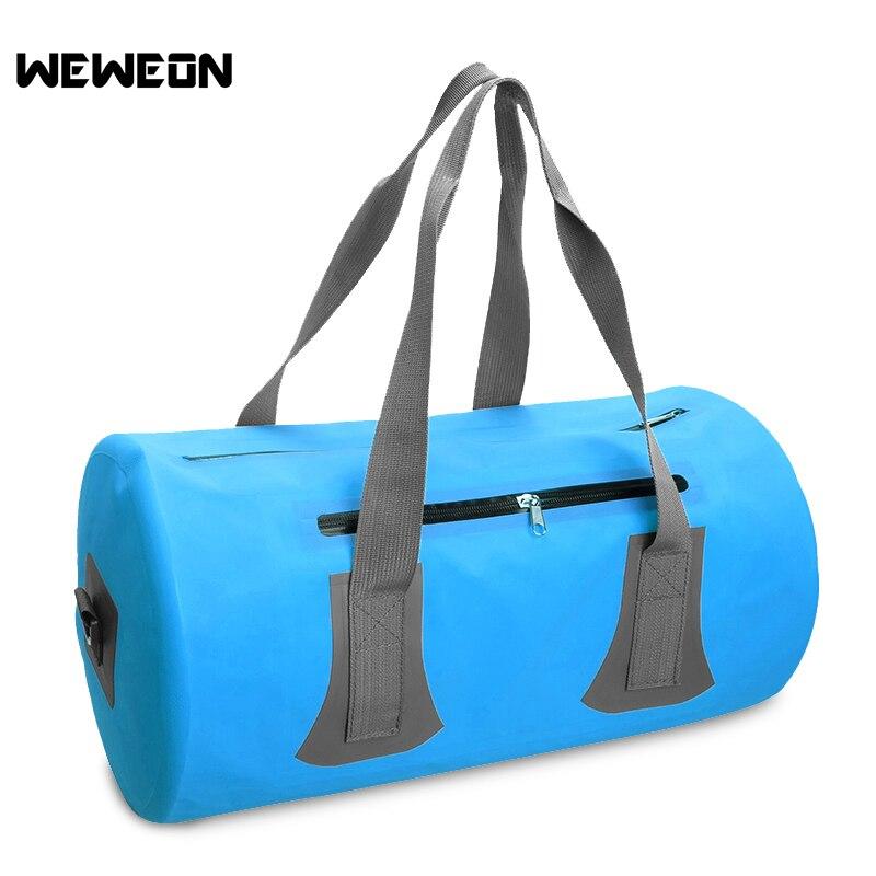 Voyage natation formation sacs Combo sec humide Gym sac de rangement en plein air hommes étanche natation sac à main épaule Duffle sac sec