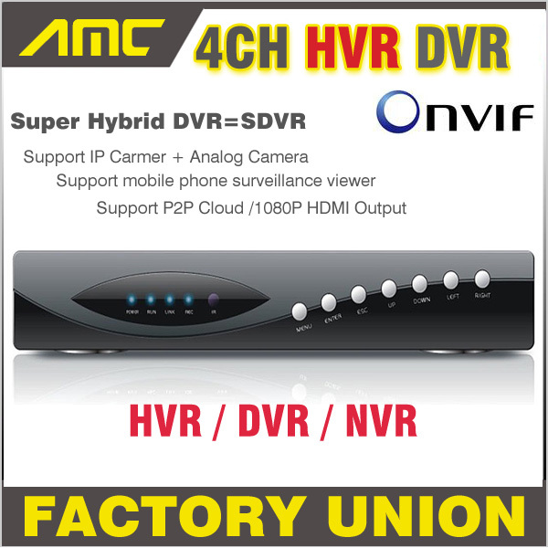 2017 New 1080P Super DVR/HVR/NVR CCTV NVR 4CH Channel Recorder H.264 DVR for IP Camera Analog Camera support Onvif 1080P HDMI hiseeu 8ch 960p dvr video recorder for ahd camera analog camera ip camera p2p nvr cctv system dvr h 264 vga hdmi dropshipping 43