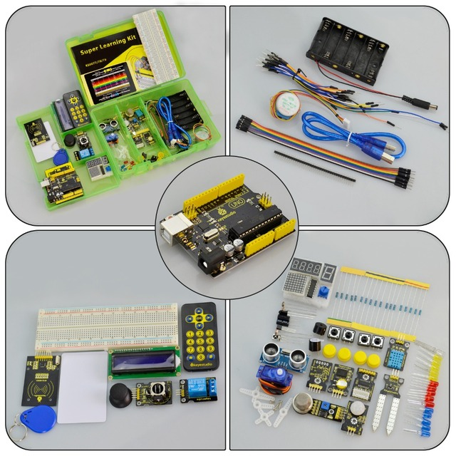 Super Mega Kit for Arduino UNO R3 -  W/Gift Box + 32 Projects 2