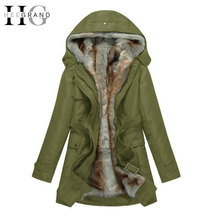HEE GRAND Winter Jacket Women Thick Women Winter Detachable Coats Plus Size Warm Parkas Manteau Femme Jaqueta Feminina WWM056