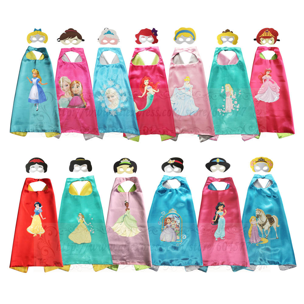 Princess Jasmine Snow White Costume for Girls Halloween Costumes for Kids Birthday Party Favor ...