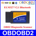 2016 ELM327 Bluetooth V2.1 OBD2 Car Diagnostic Tool Interface ELM 327 Bluetooth Para Android/Symbian Para Os Protocolos de OBDII OBD2
