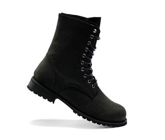 Size 39 44 Retro Combat boots Winter England style fashionable ...