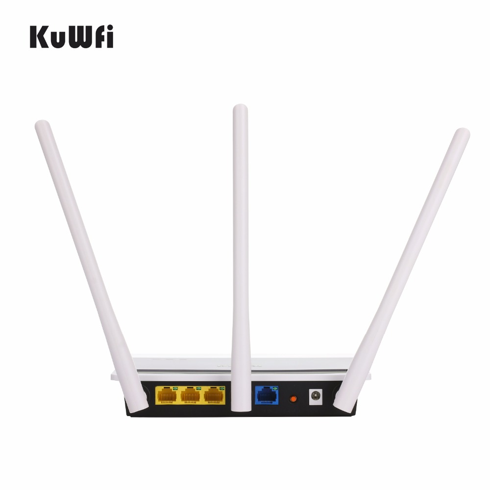 Image 4 - 2.4G 300Mbps High Power Wireless Router Strong Wifi Signal Home Networking AP with 3*6dbi Antenna Wifi Repeater-in Wireless Routers from Computer & Office