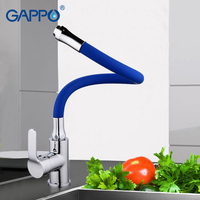 GAPPO Water Mixer Torneira Kitchen Sink Faucet Mixer Crane Taps Brass Kitchen Water Faucet Filter G4353D