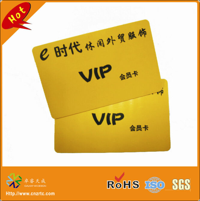 Wholesale Glossy Finish Customized Cr80 4c Printing Gold Vip Card