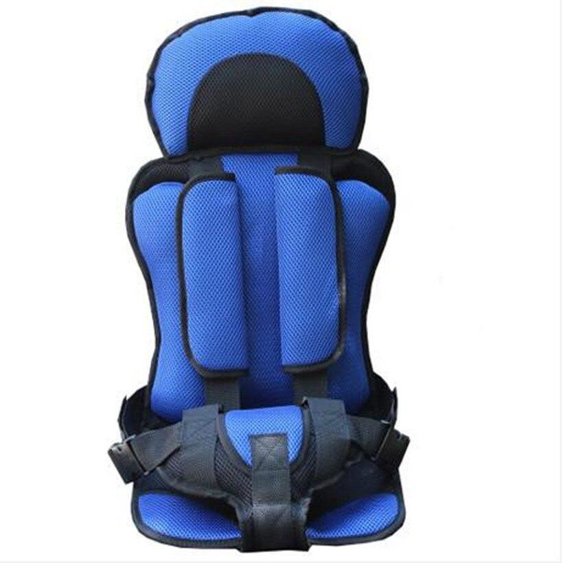 Asiento de Seguridad para Niños Del Asiento de Coche de Bebé Portable Espesar Esponja Niños Asientos de coche de bebe conforto Cinco Puntos Arnés Sillas en el coche