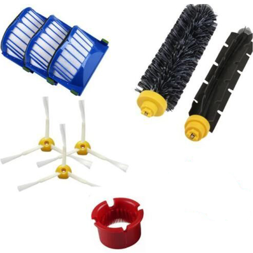 Replacement Part fit for Irobot Roomba 500 600 Series Vacuum Cleaner bristle brush flexible beater brush fit for irobot roomba 500 600 700 series 550 650 660 760 770 780 790 vacuum cleaner parts