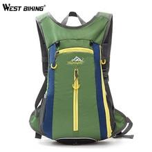 WEST BIKING 15L Capacity Waterproof Sport Backpack Travel Unisex Nylon Bags Camping Mountaineering Hiking Climbing Backpack