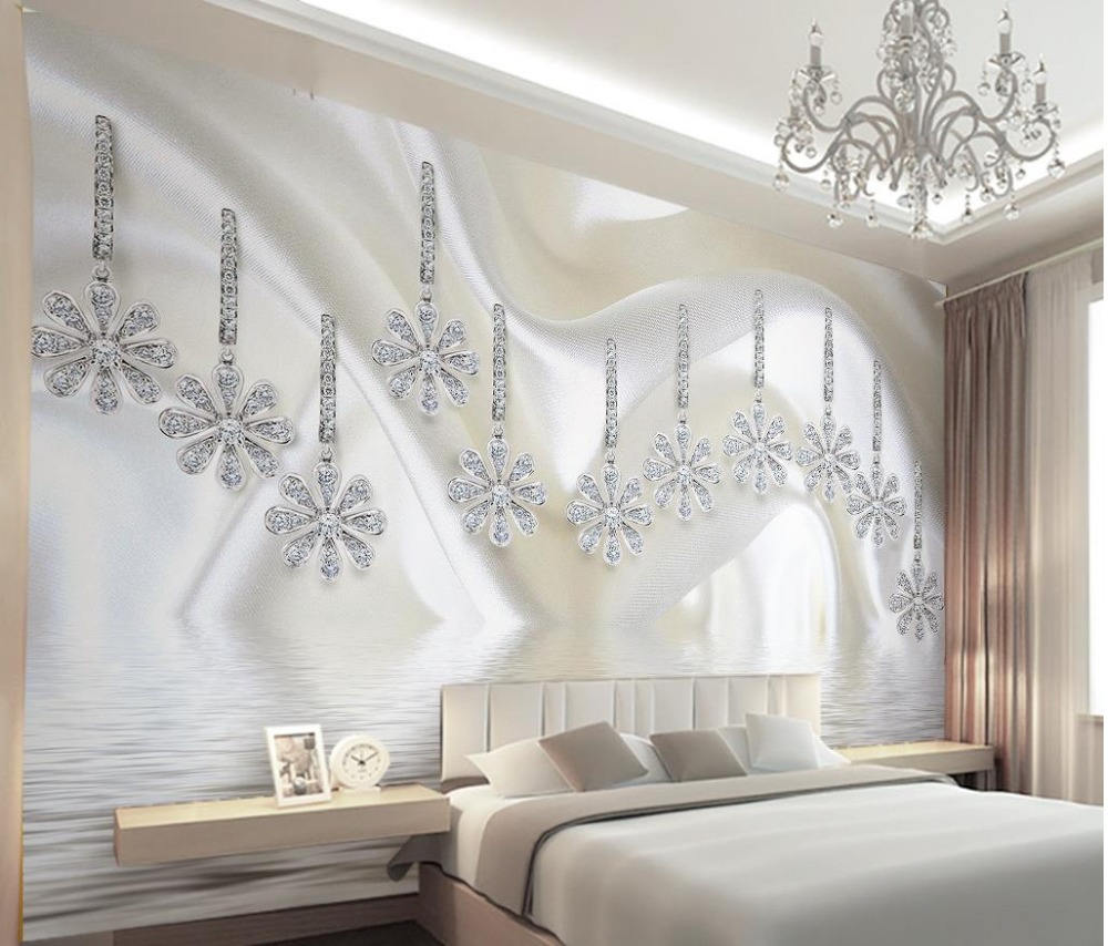 online get cheap wallpaper flowers alibaba group. Black Bedroom Furniture Sets. Home Design Ideas