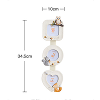 2019 Creative Pastoral Resin Photo Frame Album Cartoon Creative Picture Frame Table Decoration Home Family Art Pictures Frames