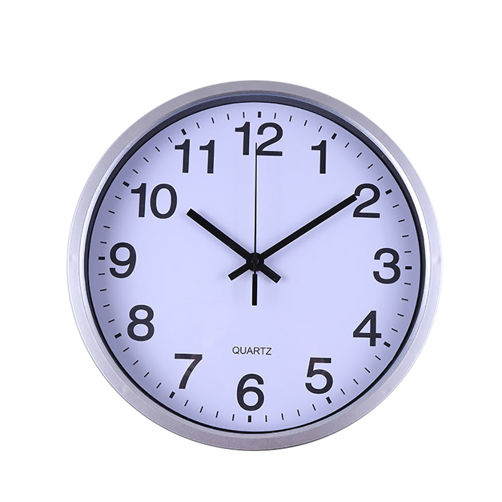 30cm Simple Round Wall Clock Quartz Modern Design Country Style Beautiful Wall Clocks For Livingroom Home Decor Dropshipping325Z