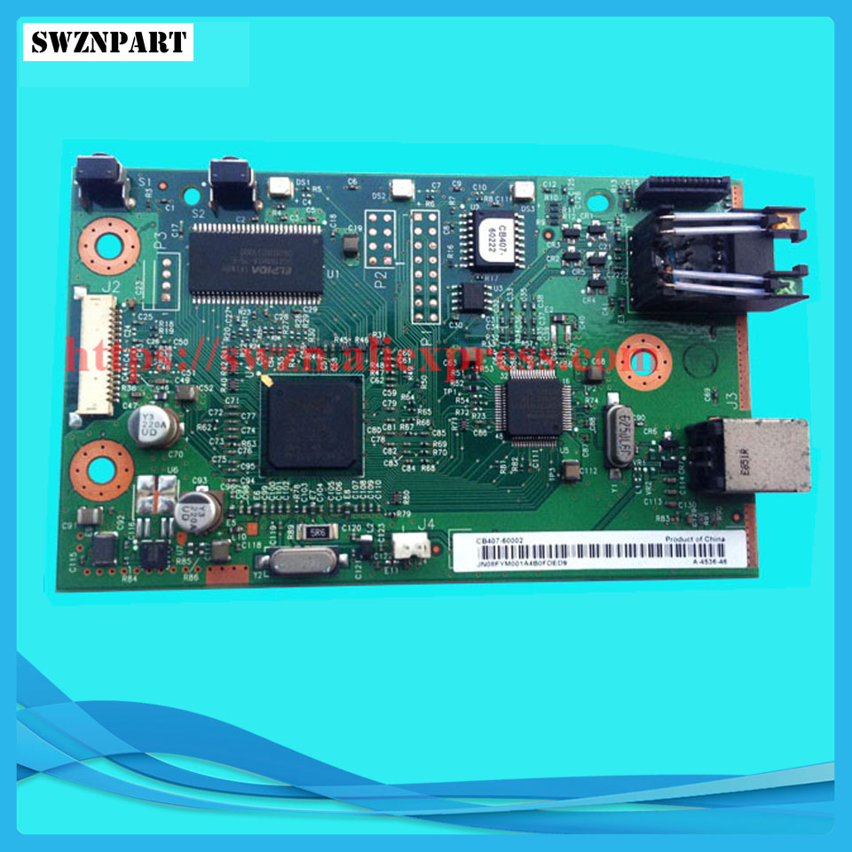 FORMATTER PCA ASSY Formatter Board logic Main Board MainBoard For HP 1022N Q3969-60002 CB407-60002 formatter pca assy formatter board logic main board mainboard mother board for hp m775 m775dn m775f m775z m775z ce396 60001