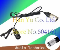 Free Shipping 4 Pins 4 PIN Hirose Connector Tie Clip On Mic Lavaliar Microphone Microfono For