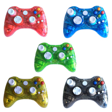 10pcs a lot Wireless Game Controller with LED Light for Xbox 360