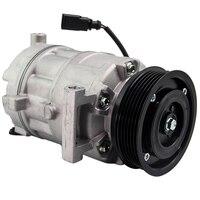 Auto AC A/C Compressor 6PK 110mm 12V 6SEU14C For Audi A4/A6 2.4 V6 2004 2009