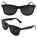Anti-fadiga Óculos Pinhole Óculos Stenopeic Visão Improver Visão Cuidados