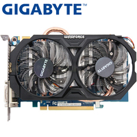 Used GIGABYTE Graphics Card GTX 660 2GB 192Bit GDDR5 Video Cards for nVIDIA Geforce GTX660 VGA Cards stronger than GTX 750 TI