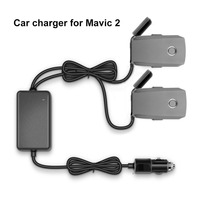 Battery Car Charger with Charging Ports Outdoor Charger for DJI Mavic 2 Pro/Mavic 2 Zoom RC Quadcopter With 4K HD Camera Drone