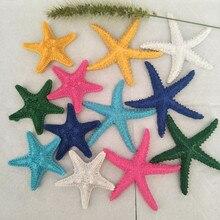 Mediterranean diy resin mini starfish decorative accessories fish tank background wall decoration shooting props home