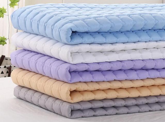 Bed Met Matras : Cm thuis katoen matras antislip hotel matras wasbaar bed