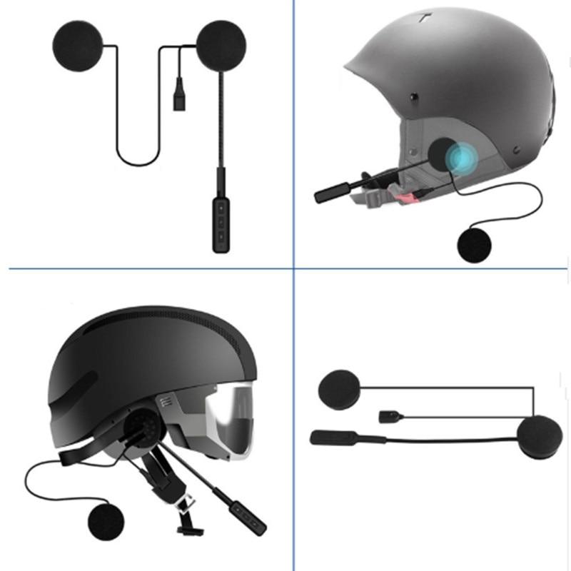 WUPP MH01 mootoriga juhtmeta Bluetooth-peakomplekti mootorratta - Mootorrataste tarvikud ja osad - Foto 2