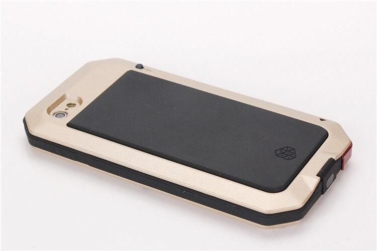 Цена за Три металлический корпус водонепроницаемый открытый случаи, вытекающие из железный человек для iphone 6/6 plus/7/7 плюс