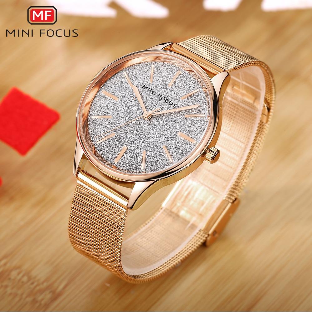 MINI FOCUS Fashion Quartz Watch Women Watches Ladies Girls Famous Brand  Wrist Watch Female Clock Montre 37f2fac7bc